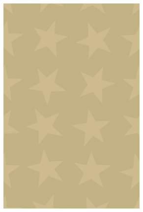 """Бумага упаковочная """"Gleam Star gold. Золотоые звезды"""", 70 см, 1,5 м"""