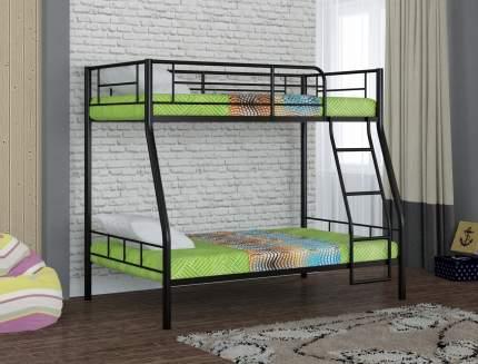 Металлическая двухъярусная кровать Redford Гранада-2 Черный