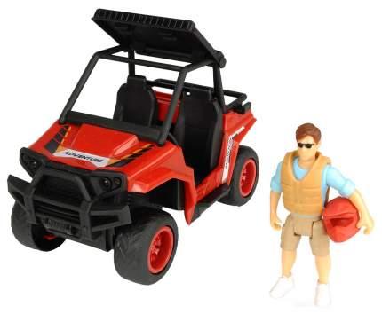 Машина Dickie Toys паркового рейнджера с фигуркой и аксессуарами