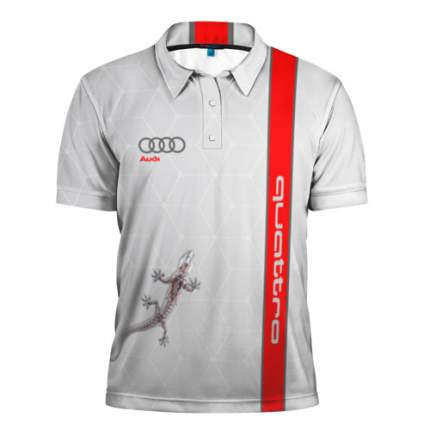 Жен. Футболка Поло Golf, Xl, Audi Quattro VAG арт. 3130804105