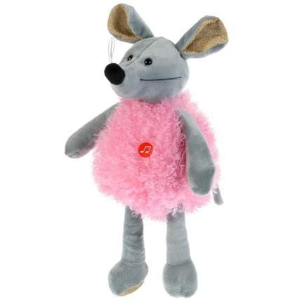 """Игрушка мягкая """"Мышка в розовом"""", 16 см"""