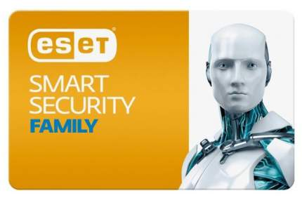 ПО Eset NOD32 Smart Security Family 3 устр. 1 год Renewal Card (NOD32-ESM-RN(CARD)-1-3)