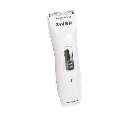 Машинка для стрижки домашних животных ZIVER 210, керамика, белая, 10 Вт
