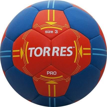 Мяч гандбольный Torres Pro, 3, красный/синий