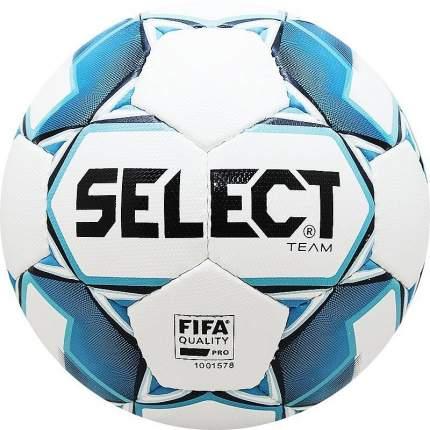 Футбольный мяч Select Team FIFA №5 white/blue