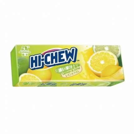 Жевательные конфеты Morinaga Hi-chew лимон-лайм 35 г