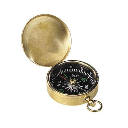 Компас малый, размер 4,7х6,5х1,5 см.