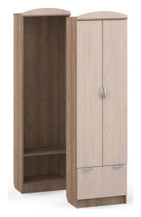 Платяной шкаф Мебель Смоленск MAS_SHP-03-YASH 80х37х218, орех темный