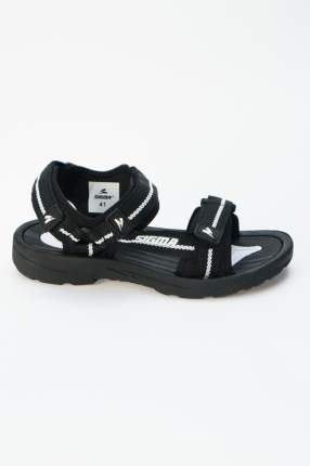 Сандалии мужские SIGMA 20631G-E черные 41 RU