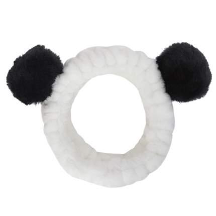 """Ободок на голову Kawaii Factory """"Панда"""" черно-белый"""