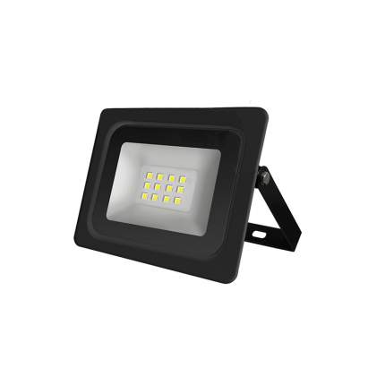 Прожектор LED 10W 6500K IP65 черный плоский IONICH 46043