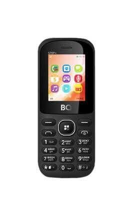 Мобильный телефон BQ-1807 Step+ Черный