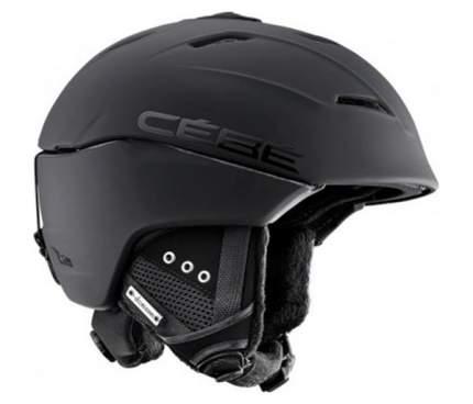 Горнолыжный шлем мужской Cebe Atmosphere Deluxe 2018, черный, M/L