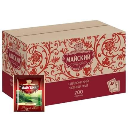 Чай черный Майский цейлонский 200 пакетиков