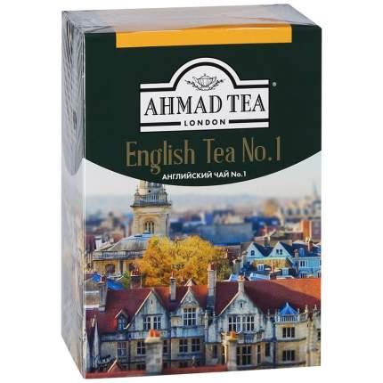 Чай Ahmad  Tea английский №1 черный байховый листовой с ароматом бергамота 200 г