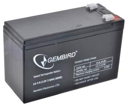 Аккумуляторная батарея 12 В для ИБП-UPS 7,5 А-ч Gembird BAT-12V7,5AH