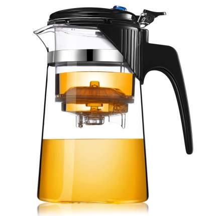 Стеклянный заварочный чайник Veitron с кнопкой, 750 мл