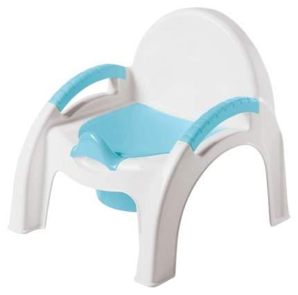 Горшок детский БЫТПЛАСТ 431326702 Горшок-стульчик Голубой