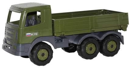 Машина военная Полесье Автомобиль Престиж бортовой военный 48790
