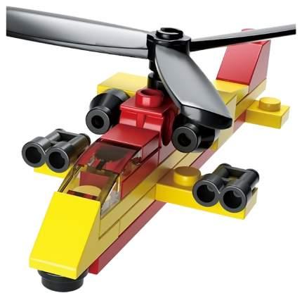Конструктор пластиковый Sluban M38-B0591D Вертолет 25 деталей