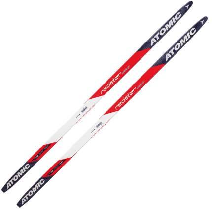Беговые лыжи Atomic Redster Skintec Junior Red/White 2017, 158 см