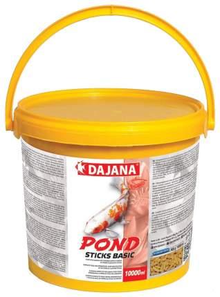 Корм для декоративных карпов и золотых рыбок Dajana POND STICKS BASIC, палочки, 5 л