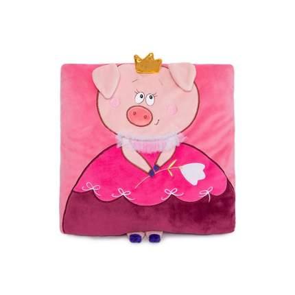 Мягкая игрушка BUDI BASA подушка Свинка ПрЫнцесса 30 см