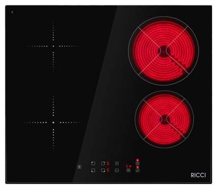 Встраиваемая варочная панель электрическая RICCI KS-M46903R Black