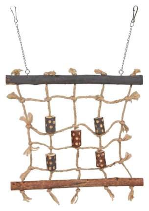 Игрушка для птиц Trixie  сетка из сизалевой верёвки, 27 х 24 см