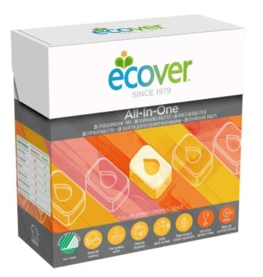 Таблетки для посудомоечной машины Ecover 3в1  0.5 кг