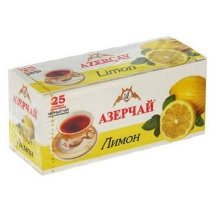 Чай черный Азерчай лимон 25 пакетиков