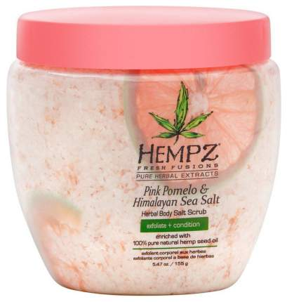Скраб для тела Hempz Pink Pomelo & Himalayan Sea Salt Herbal Body Salt Scrub 155 г