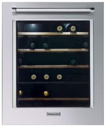 Встраиваемый винный шкаф KitchenAid KCBWX70600L Silver