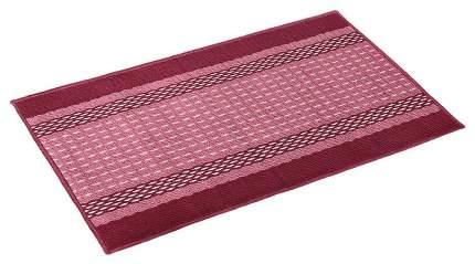 Коврик текстильный Vortex Madrid бордовый 40x60 см