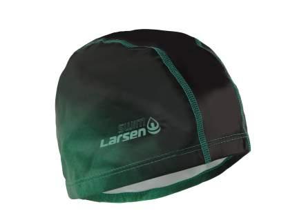Шапочка для плавания Larsen PU100 green/black