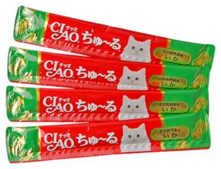 Лакомство для кошек Premium Pet Japan Кальмар и парное филе курицы 56 г SC-79