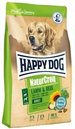 Сухой корм для собак Happy Dog NatureCroq Adult, ягненок, рис, 1кг
