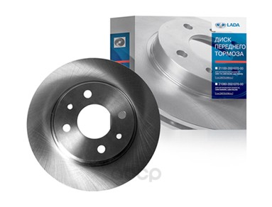 Тормозной диск LADA 21120350107002 передний