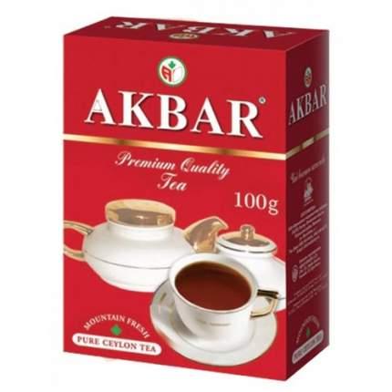 Чай черный листовой Akbar red&white 100 г