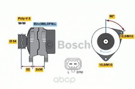 Генератор Bosch 0124325171