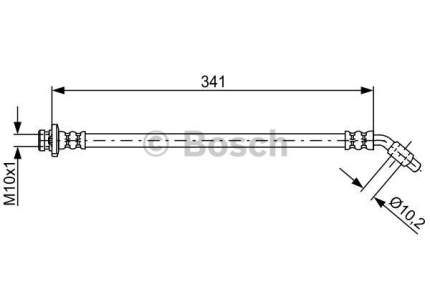 Шланг тормозной системы Bosch 1 987 481 826