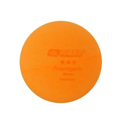Мячи для настольного тенниса Donic Avantgarde 3*, оранжевый, 6 шт.