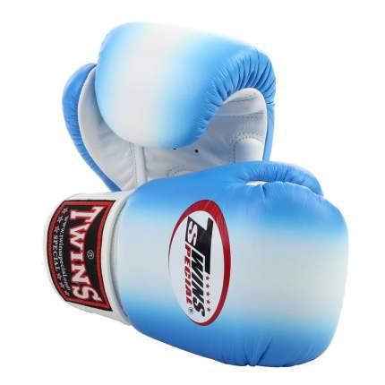Боксерские перчатки Twins Special FBGV-4 голубые 10 унций