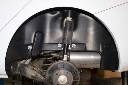 Подкрылок LADA Vesta, 2015->, сед., со штатным войлоком (задний правый)