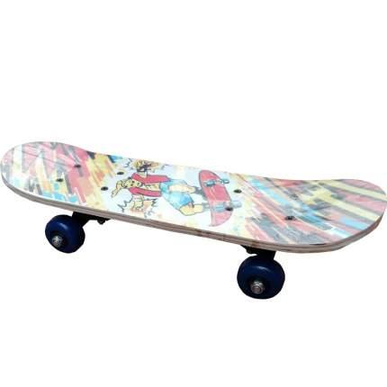 """Скейтборд детский Action! TEEN 17"""" принт"""
