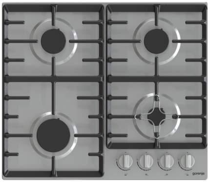 Встраиваемая варочная панель газовая Gorenje G641X Silver