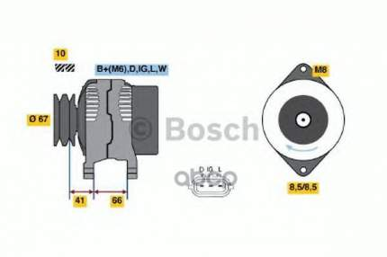 Генератор Bosch 0124120001