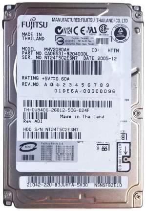 Внутренний жесткий диск Fujitsu 80GB (MHV2080AH)