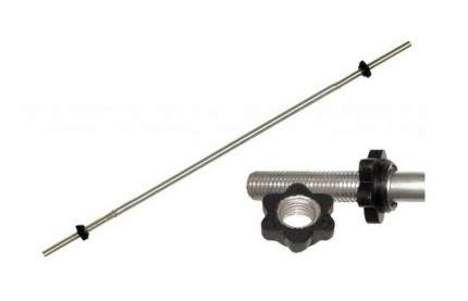 Гриф для штанги прямой MB Barbell Atlet Гайка Вэйдера 125 см, 25 мм