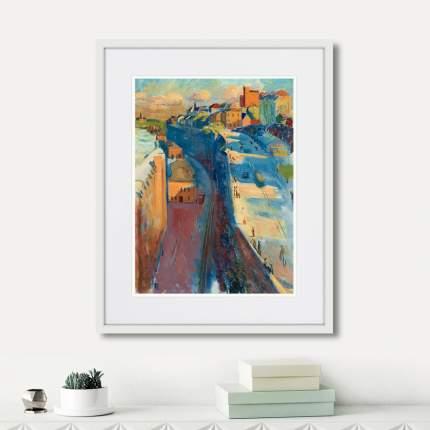 Картина Motiv from Stockholm and Katarinavagen, 1930г., 52 x 42 см, Картины в Квартиру
